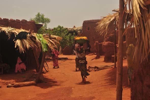 Буркина-Фасо: Dafra священный сом