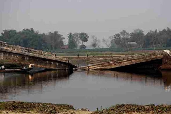 Das unmögliche Flucht aus Indien und Feldwege