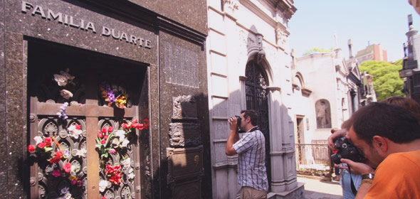 La Recoleta: abdução dos corpos de Evita e Aramburu