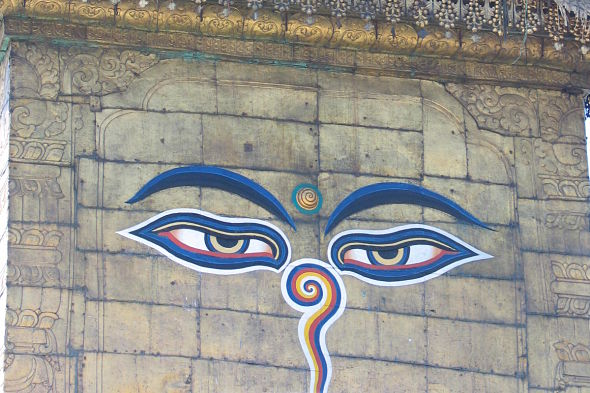 Swayambhunath: el templo de los monos chillones