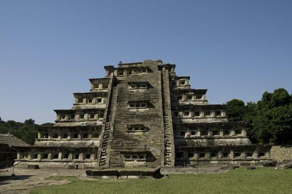 El Tajin: das Rätsel der Pyramide der Nischen