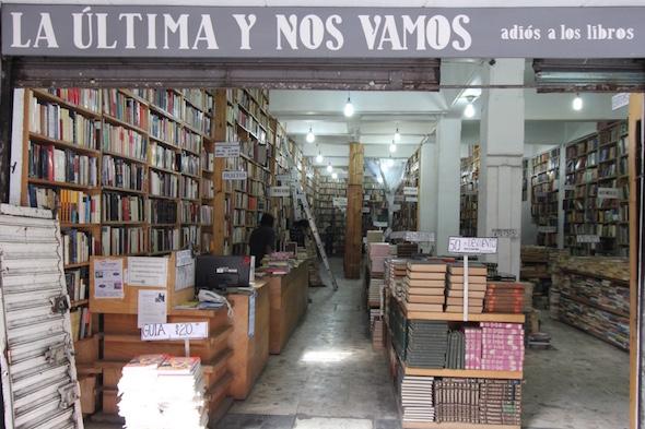 """Los viejos """"cementerios"""" de libros de Ciudad de México"""