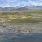 Vistas desde el dzong de Tingri