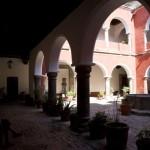 Claustro del ex convento de San Francisco en Tlaxcala