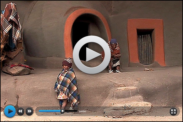 Lesotho: ein vergessenes Land in den Bergen