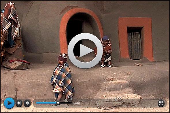 Lesoto: zaboravio zemlja u planinama