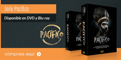 serie do Pacífico en DVD e Blueray