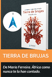 Tierra de Brujas, de Maria Ferreira. Editado na colección do curso editorial to the Past